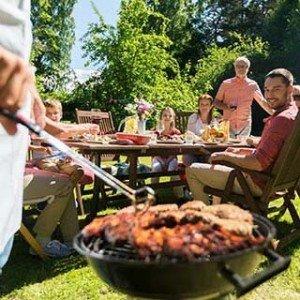 barbecue als huwelijkscadeau