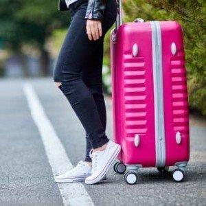 koffers huwelijksreis
