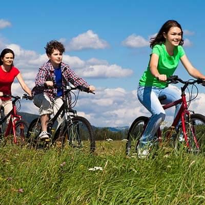 fietsen als huwelijkscadeau